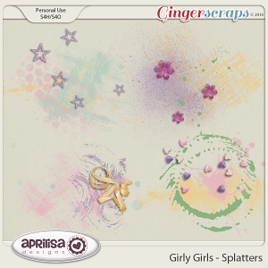 Girly Girls - Splatters