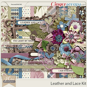 Leather and Lace Kit
