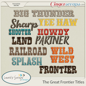 The Great Frontier Titles