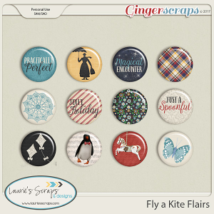 Fly a Kite Kit Flairs
