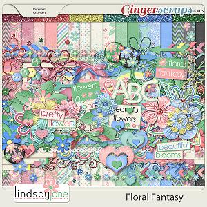 Floral Fantasy by Lindsay Jane