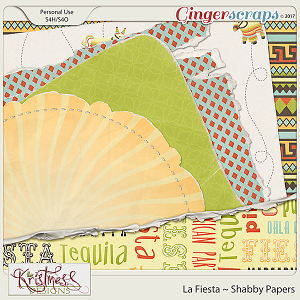 La Fiesta Shabby Papers