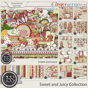 Sweet And Juicy Digital Scrapbooking Collection