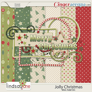 Jolly Christmas Mini Kit Add On by Lindsay Jane