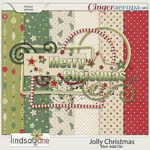 Jolly Christmas Mini Kit Add On by Lindsay Jane