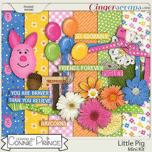 Little Pig - Mini-Kit by Connie Prince