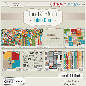 Project 2014 March:  Life In Color - Mega Stash