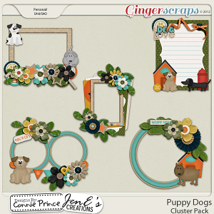 Retiring Soon - Puppy Dogs - Cluster Pack