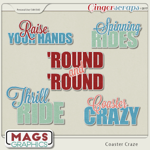 Coaster Craze TITLES by MagsGraphics
