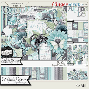 Be Still Digital Scrapbooking Collection