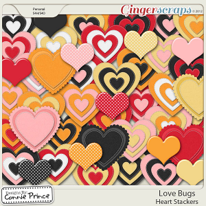 Love Bugs - Heart Stackers