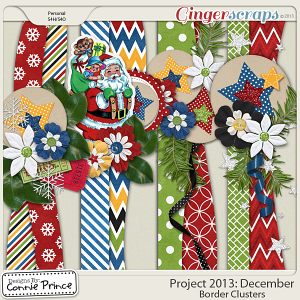 Project 2013:  December - Border Clusters