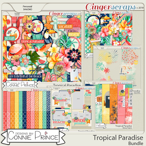 Tropical Paradise- Core Bundle by Connie Prince