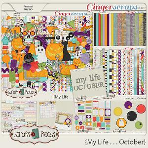 My Life - October Bundle by Scraps N Pieces