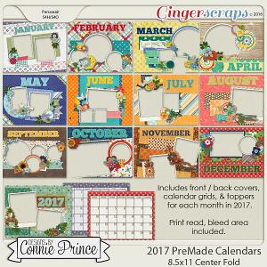 2017 PreMade Calendars