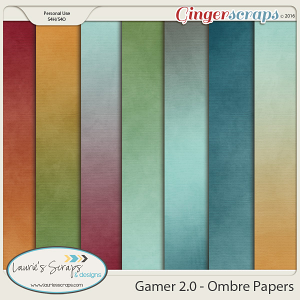 Gamer 2.0 - Ombre Papers