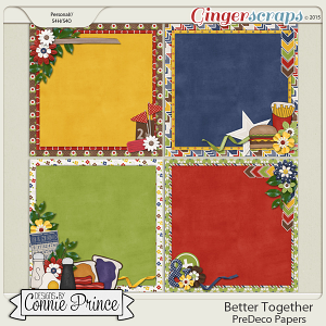 Better Together - PreDeco Papers