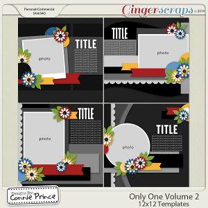 Only One Volume 2 - 12x12 Temps (CU Ok)