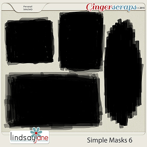 Simple Masks 6 by Lindsay Jane