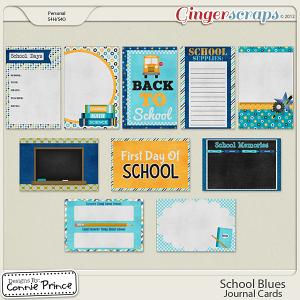 Retiring Soon - School Blues - Journal Cards