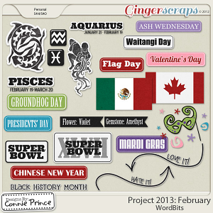 Project 2013:  February - WordBits