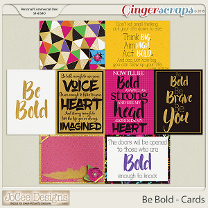 Be Bold Journal Cards