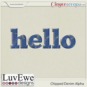 Chipped Denim Alpha