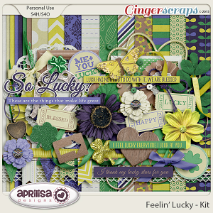 Feelin' Lucky - Kit by Aprilisa Designs