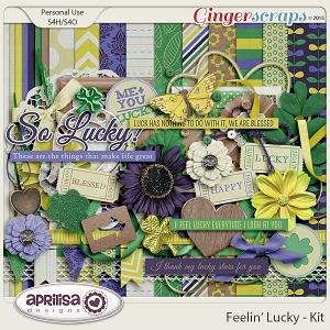 Feelin' Lucky - Kit by Aprilisa Designs