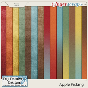Apple Picking {Ombre Gradient Papers} by Day Dreams 'n Designs