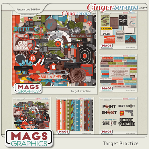 Target Practice BUNDLE by MagsGraphics