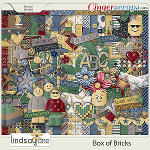 Box of Bricks by Lindsay Jane