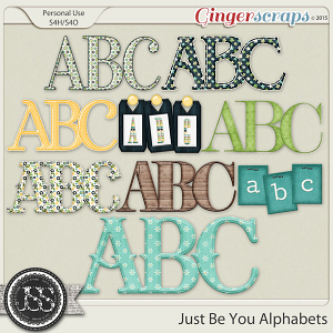 Just Be You Alphabets