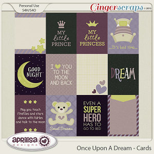 Once Upon A Dream - Cards by Aprilisa Designs