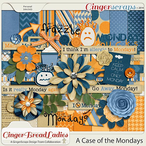 GingerBread Ladies Collab: Case of the Mondays