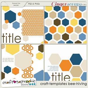 Craft-Templates Bee-Hiving