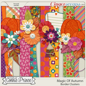 Magic Of Autumn - Border Clusters