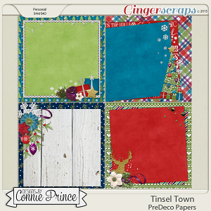 Tinsel Town - PreDeco Papers