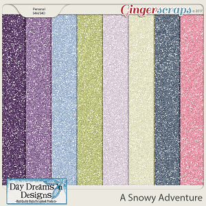 A Snowy Adventure {Glitters} by Day Dreams 'n Designs
