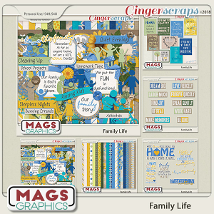 Family Life BUNDLE by MagsGraphics