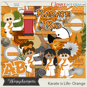 Karate is Life- Orange