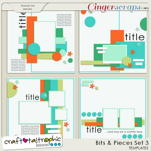 Craft-Templates Bits and Pieces Set 3