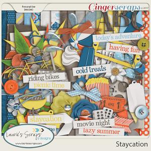Staycation Page Kit