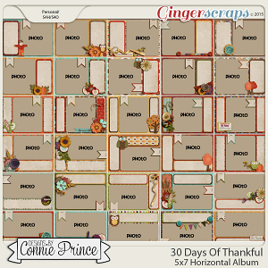 Retiring Soon - 30 Days of Thankful - 5x7 Horizontal Album