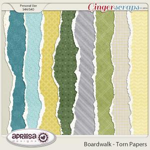 Boardwalk - Torn Papers