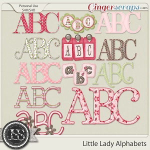 Little Lady Alphabets