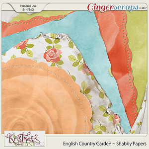 English Country Garden Shabby Papers