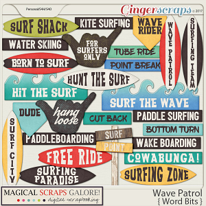 Wave Patrol (word bits)