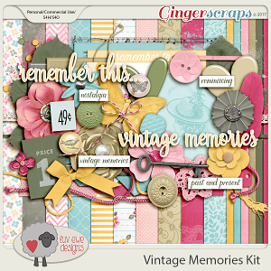 Vintage Memories Kit by Luv Ewe Designs