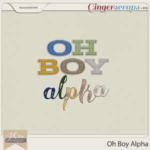Oh Boy Alphas by JoCee Designs